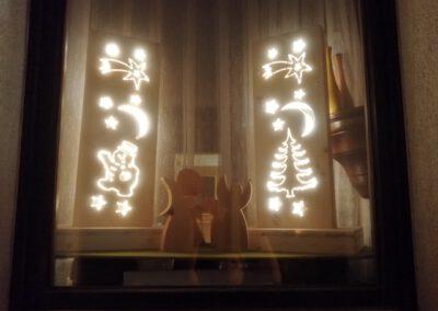 Fichtenholz Lampe Motive1