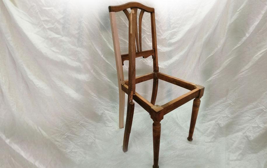 Stuhl-Restaurierung